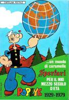[MD1162] CPM - POPEYE CINQUANTENARIO - BRACCIO DI FERRO - SPERLARI - CARAMELLE - PUBBLICITARIA - NV - Fumetti