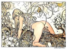 [MD1164] CPM - MILO MANARA - GLAMOUR GIRL - EDITIONS AEDENA- NV - Fumetti