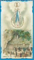 Holycard    O.L.V. Van Lourdes - Devotion Images