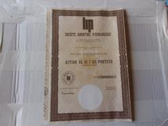LIP Horlogerie (50 FRANCS) Besançon-doubs - Shareholdings