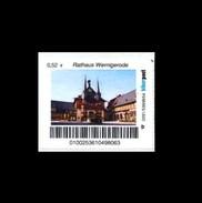 Bund / Biber Post [39104 Magdeburg]: 'Rathaus Wernigerode' / 'Wernigerode Town Hall' * - Privados & Locales