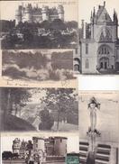 60 - LOT 43 CPA CHATEAU DE PIERREFONDS -  DIVERSES - Postkaarten