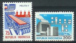 Mgm1456 VIJFDE VIJFJARENPLAN INDUSTRIE DATA COMPUTERS INDUSTRY COMMUNICATION PC DATENVERARBEITUNG INDONESIA 1991 PF/MNH - Informatik