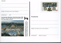 Deutschland 1995 - Postkarte - Munchen (Markenbild: Regensburg) - Briefmarkenausstellungen