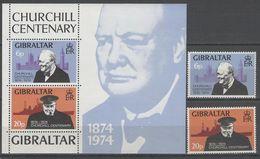 "Gibraltar "" CHURCHILL "" 1974 MNH - Gibraltar"
