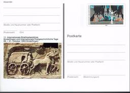 """Deutschland 1993 - Postkarte - Sindelfingen (Markenbild: Ballett """"Schwanensee"""" Von P. I. Tschaikowski ) - Musique"""