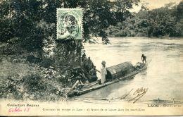 N°10 N -cpa Laos -comment On Voyage Au Laos- - Laos