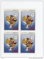 Angola-1983-O.U.A.-Mains-   1  Valeur En Bloc De 4***MNH - Angola