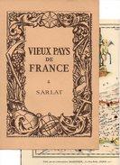 Carte Topographique Du Diocèse De Sarlat - Vieux Pays De France N°4 Par Les Laboratoires Marinier - Topographical Maps