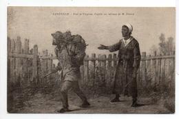 - FRANCE (54) - CPA Vierge LUNEVILLE - Paul Et Virginie, D'après Un Tableau De M. France - - Luneville