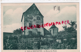 67 - WESTHOFFEN - VUE - LE BOURG DES ROSES - France
