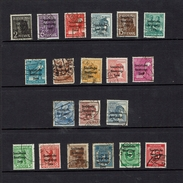 GERMANY...post War Overprints...liquidation