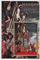 "Manama 1972 "" La Crocifissione "" Quadro Dipinto Dal Veronese Paintings Manierismo Vangeli"
