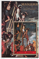 """Manama 1972 """"La Crocifissione"""" Quadro Dipinto Dal Veronese Paintings Manierismo Vangeli Easter - Quadri"""