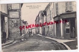 79 - MAUZE- LA GRANDE RUE - PUB MURALE BOUILLIE PERDOUX - Mauze Sur Le Mignon