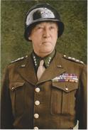 Militaria WW2 - Portrait Du Général Américain Patton - 1939-45