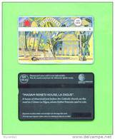 SEYCHELLES - Optical Phonecard/Madam Rene´s House - Seychelles