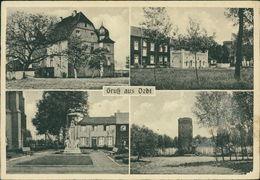 AK Grefrath Oedt, Mehrbildkarte, O 1951, Papierabschürfung Unten Rechts (7583) - Sonstige
