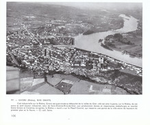 1955 - Iconographie - Givors (Rhône) - Vue Aérienne - FRANCO DE PORT - Sin Clasificación