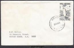 PNG Postmark 1969 (Aug) MENDI - Papouasie-Nouvelle-Guinée