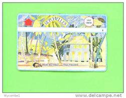 SEYCHELLES  -  Optical Phonecard/Madam Renes House - Seychelles