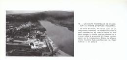 1955 - Iconographie - Chasse-sur-Rhône (Isère) - Vue Aérienne - FRANCO DE PORT - Sin Clasificación