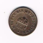 ) HONGARIJE  2  FILLER  1895 KB - Hongrie
