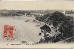 CPA - DOUARNENEZ - La Plage Du Riz - Douarnenez