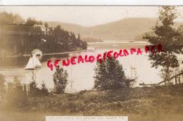 CANADA - LAC DES SABLE SAINTE AGATHE DES MONTS - QUEBEC - CARTE PHOTO - Unclassified