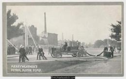 Melbourne Fire Brigade, Merryweather's Petrol Motor Pump - Cartes Postales