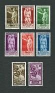 LIBIA Italiana 1938 - Bimillenario Della Nascita Di Virgilio - MH - Sa:IT-LY 152-57 E A36-37 - Libia