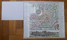 Mappa Di Milano, La Città Principale Et Fortezza Reale Del Ducato Medesimo In Italia, Data In Luce Da Matth. Seutter,.. - Mappe