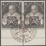 Luxembourg 1953 Y&T 475 Michel 516. Peter Von Aspelt (1250-1320), Archevêque De Mayence, Chancelier De La Bohème