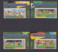 Guernsey 1996 European Championship Football 8v(4 Pairs Of 2v) ** Mnh (35598)