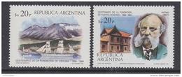 Argentina 1984 Fundacion Ushuaia &  Puerto Deseado 2v ** Mnh (35599) - Ongebruikt