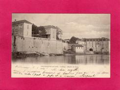 47 LOT-ET-GARONNE, VILLENEUVE SUR LOT, Collège, Moulin De Gajac, 1903, 1903 - Villeneuve Sur Lot