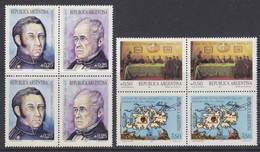 Argentina 1987 Commemoratives / Falkland Islands 2x4v ** Mnh (35600B) - Ongebruikt