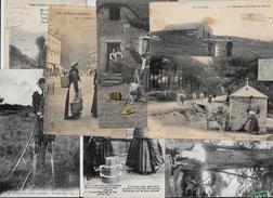 Lot 289 De 10 CPA Divers Métier Campagne Ferme Folklore Déstockage Pour Revendeurs Ou Collectionneurs - Cartoline