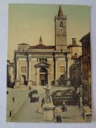 509 - Cartolina/Postcard Ascoli Piceno Basilica Di S.Emidio Autobus Automobili Fototipia Berretta - Ascoli Piceno