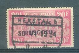 "BELGIE - OBP Nr BA 20 - Cachet  ""HERSTAL 5""  - (ref. 12.251) - Cote 22,00 € - Luggage"