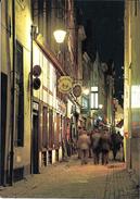 """Bruxelles (1000) : Restaurants """"Le Bigorneau"""", """"La Vieille Ville"""" Et """"La Petite Rue"""", Petite Rue Des Bouchers. CPSM. - Bruxelles La Nuit"""