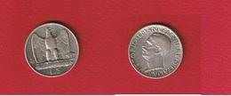 Italie  -- 5 Lires 1927 R  -  Km # 67.1  --  état  TTB+  -- - 1946-… : Republiek