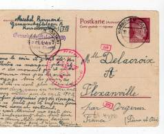 POSTKARTE - Korschen (ostpr) 11/08/1944 - Ganzsachen