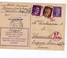 POSTKARTE - Korschen (ostpr) 20/07/1944 Pour La France - Ganzsachen