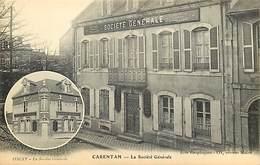 - Manche - Ref-B249- Carentan Et Isigny ( Calvados  ) - La Societe Generale - Societes Generales - Banque -  Banques - - Carentan