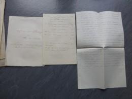 86 Vouneuil-sur-Vienne  1862, Affaire Du Passage De L'Ile De Chitré, 2 Documents ; Ref 886 VP 30 - Documents Historiques