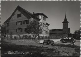 Egg (Zürich) Stift Arcella Und Wallfahrtskirche St. Antonius V. P. - Auto Oldtimer - Photo: Rud. Suter No. 3310 - ZH Zurich