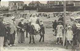 Saint Pair Sur Mer,préparatifs Du Départ Pour La Promenade - Saint Pair Sur Mer