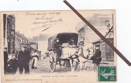 59- TOURCOING-Une VISITE à La FRONTIERE-Animee-DOUANIERS Et Leur ATTELAGE (GROS PLAN)ECRITE-TIMBREE-Janvier 1909