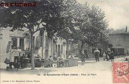 SAINT SYMPHORIEN D'OZON PLACE DU PLATRE 38 - Francia
